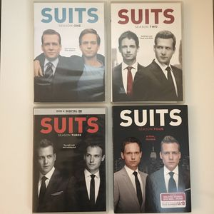Suits DVDs (Seasons 1-4) for Sale in Foster City, CA