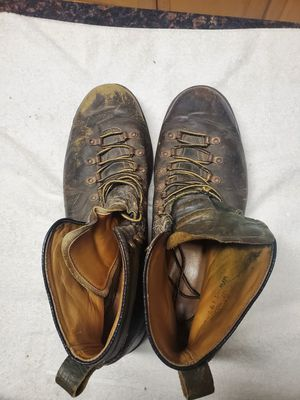 Men's work or casual boots, distressed for sure for Sale in Portland, OR