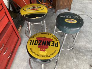 Mechanic Seat Chair Work Shop Garage Bench sit used , garage stool, I have 3 available, perfect for your man cave bar. for Sale in Polk City, FL