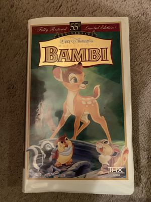 Disney Bambi VHS for Sale in Marysville, WA