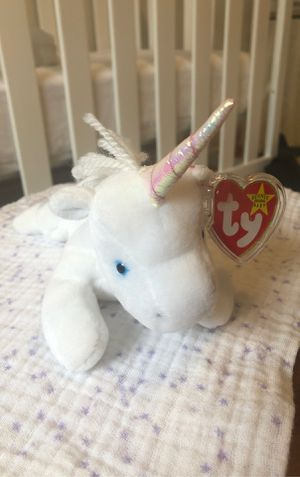 Rare unicorn ty beanie baby for Sale in Tacoma, WA