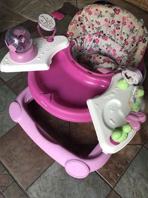 Minnie Mouse play and eat walker for Sale in Fort Worth, TX