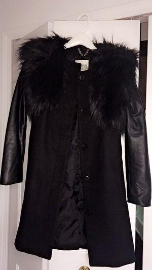 Woman's leather/fur coat for Sale in Troy, MI