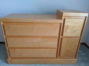 Dresser changing table for Sale in Rocklin, CA