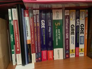Gre and Gmat books! for Sale in Sunnyvale, CA
