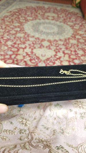 18K GOLD LINKED CHAIN for Sale in Springfield, VA
