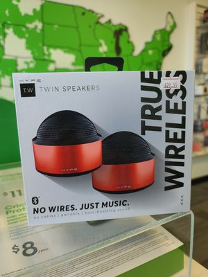 Hype twin speakers for Sale in Weston, WI