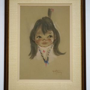 Gerda Chrsitoffersen Original Pastel On Paper for Sale in Seattle, WA