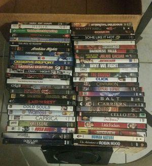 52 DVD movie lot $25obo for Sale in Pompano Beach, FL