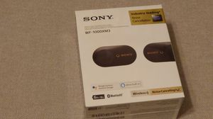 New Sony WF-1000XM3 - Black for Sale in Chicago, IL