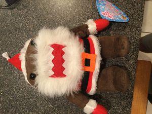 Santa demo stuff plushi toy for Sale in Wellington, FL