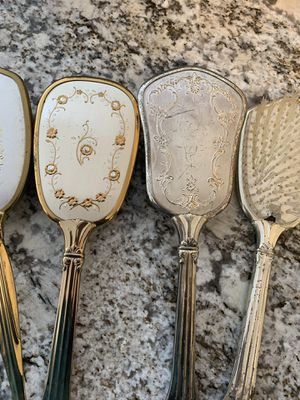 24K Gold Plated Antique Brush, Comb, & mirror for Sale in Bowie, MD
