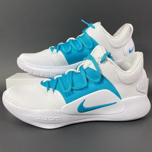 NIKE HYPERDUNK X LOW TB WHITE UNIVERSITY BLUE MENS BASKETBALL SHOES SIZE 9 NEW for Sale in Carrollton, TX