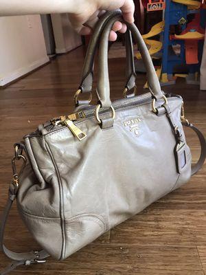 Authentic Prada double zip shoulder bag for Sale in Fairfax, VA