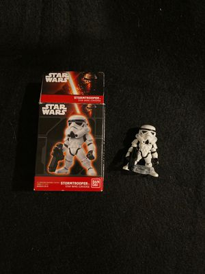 Bandai Star Wars converge storm trooper action figure from Japan for Sale in Burbank, CA