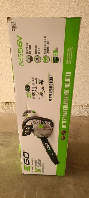 """Ego+ 16"""" chain saw (brand new) for Sale in San Diego, CA"""