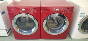 Red Frigidaire Washer and Dryer for Sale in Littleton, CO
