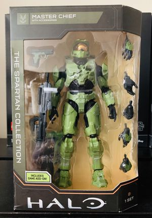 Halo The Spartan Collection Master Chief Action Figure Series 1 for Sale in San Gabriel, CA