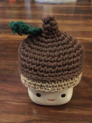Marshmallow mug with acorn hat for Sale in Spring Hill, TN