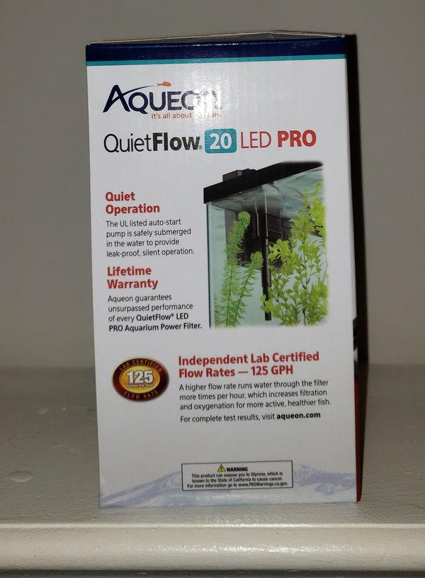 Aquarium power filter, Aqueon