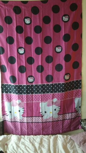 Hello kitty curtain for Sale in Duncanville, TX