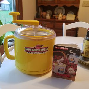 Donvier Ice cream maker for Sale in Lenoir City, TN