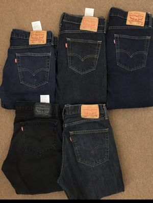 MENS LEVIS 508 & 511 SLIM JEANS READ DESCRIPTION FOR SIZES AND PRICES for Sale in Huntington Beach, CA
