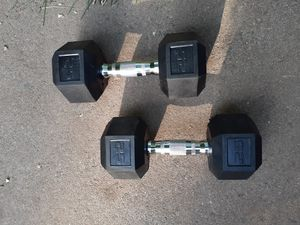 Two 25lb Dumbbells **Brand New for Sale in White Plains, NY