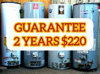 Water Heater Gas Electric or Propane Used Boiler 50 40 30 Gallons Boilers Heaters 🔥💦 LAS VEGAS for Sale in Sunrise Manor,  NV