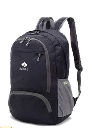 IdealTech Lightweight Packable Backpack (Black) NEW!! for Sale in Orlando, FL