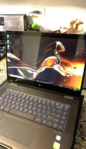 Ho spectre 360 4K touch screen laptop 512 ssd 16 Gb only used for a short time project no shipping no trades for Sale in Oak Lawn, IL