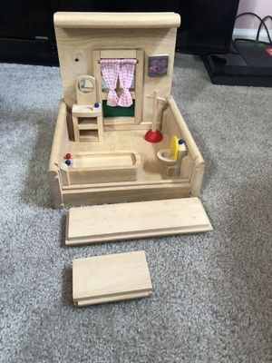 Creative play house - plan toy set / doll house + accessories for Sale in Springfield, VA