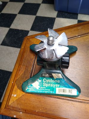 Water sprinkler cyclone sprayer for Sale in Addison, IL