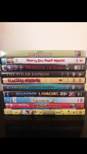 10 DVD kids movies for Sale in Oceanside, CA