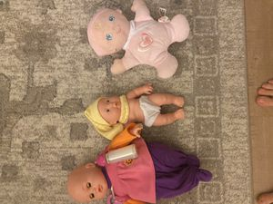 Three baby dolls toys for Sale in Carlsbad, CA