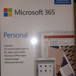 Microsoft 365 Family For 12 Months And Microsoft 365 Personal For 12 Months for Sale in Seattle, WA