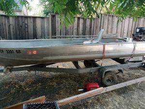 14 foot aluminum boat for Sale in San Jose, CA