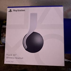 PlayStation 5 Pulse 3D Headset (Used) for Sale in Los Angeles, CA