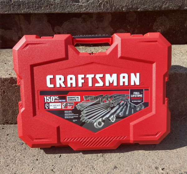 Craftsman wrench and ratchet set (tool set)