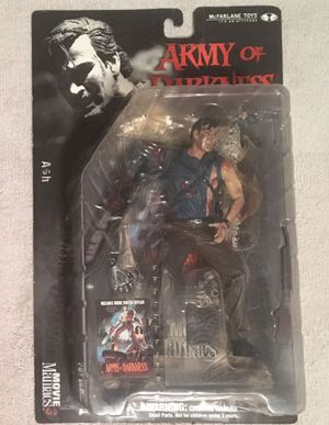 McFarlane Ash Movie Maniacs Figure for Sale in Livonia, MI