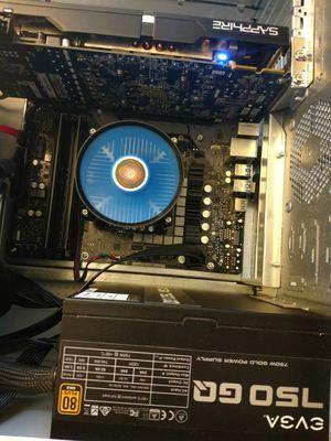 2019 High Detail 1080P Gaming PC Intel 4x Core i3-8100 3.6 GHz 16 GB RAM 256 GB Samsung M.2 SSD Sapphire ATI R9 290 GPU EVGA 750 WATT ATX Wi-Fi Win 10 for Sale in Virginia Beach, VA