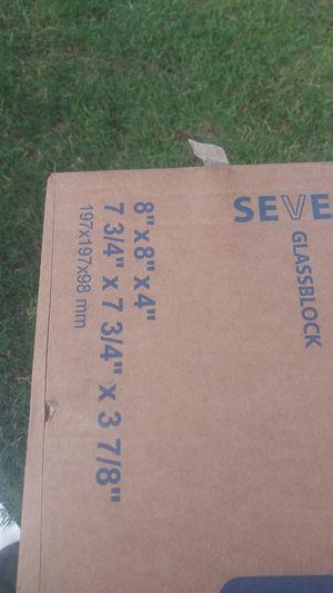 Glassblock 2 cases brand new for Sale in Dallas, TX