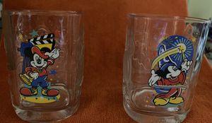 2000 Walt Disney World Millennium Glasses from McDonald's for Sale in Melrose, MA