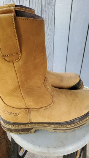 Chinook work boots sz 10.5 for Sale in Port Orchard, WA