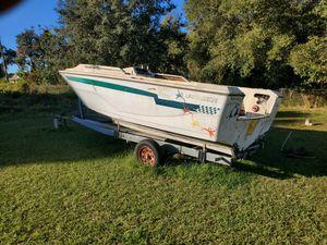 Boat & Trailer for Sale for Sale in Auburndale, FL