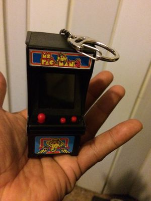Pac-Man keychain arcade game new and it works great for Sale in McKeesport, PA
