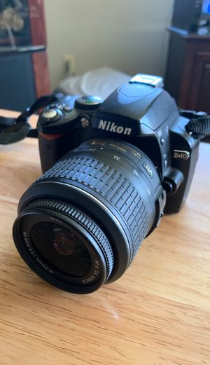 Nikon D40 Camera for Sale in Upland, CA