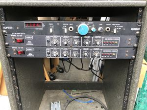Ashly SC-50 Limiter Compressor (2) and Loftech TS-1 RM Audio Test Set for Sale in Laurel, MD