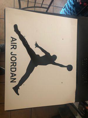 Nike air Jordan 1 retail sign 30x24 for Sale in Banning, CA