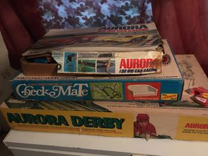 Antique games 1970s collectibles for Sale in Roby, MO